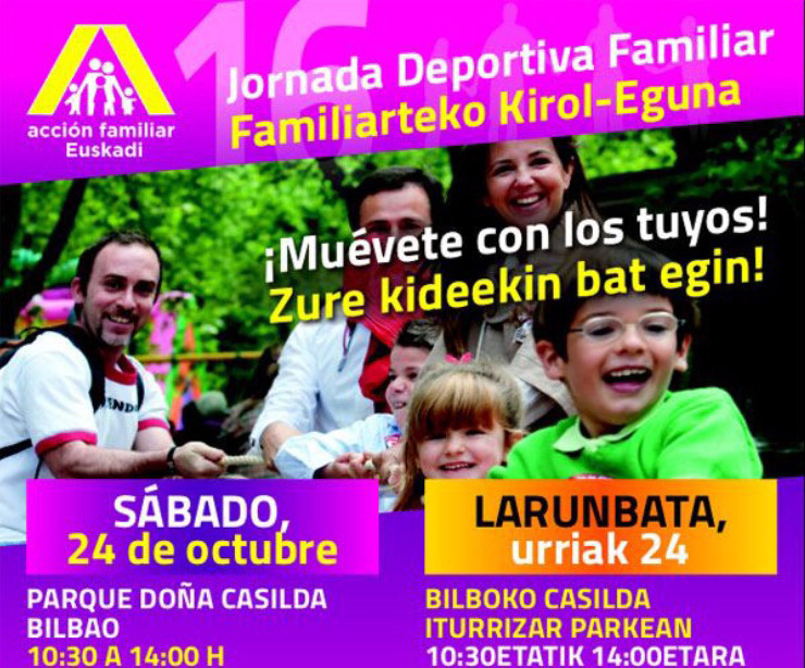 Jornada Deportiva Familiar, Bilbao (Bizkaia)