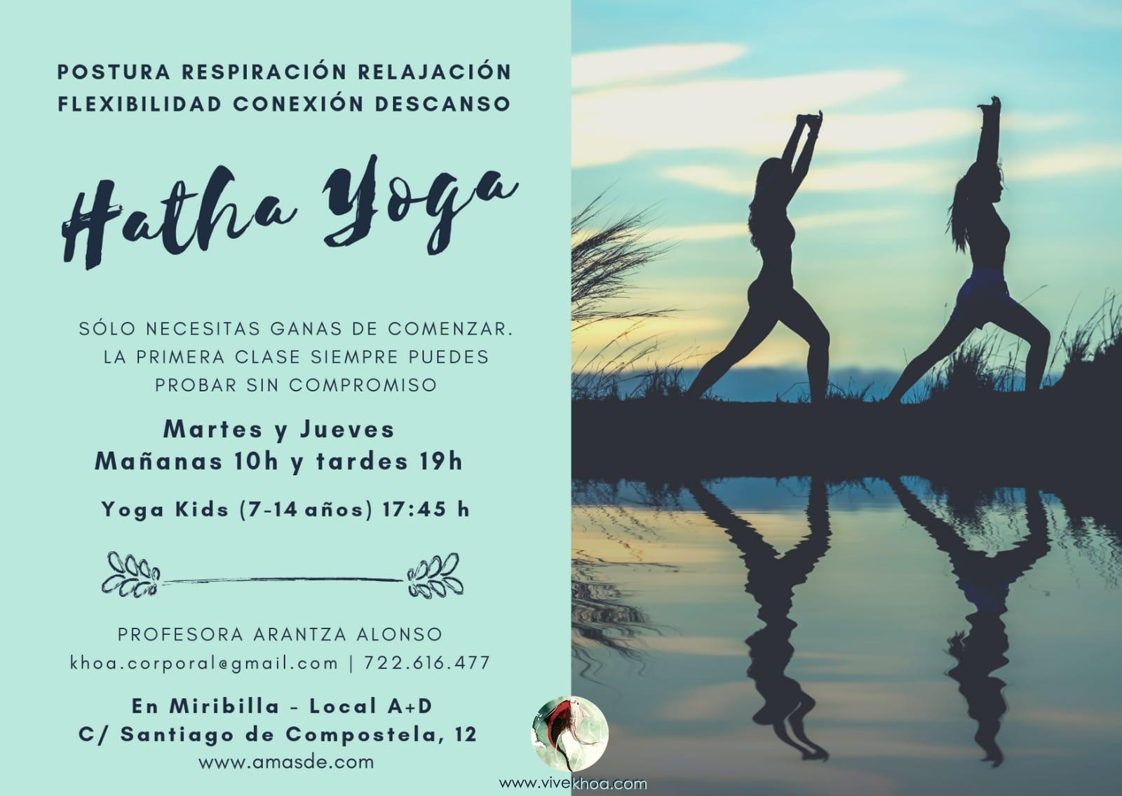 Taller de Yoga en Bilbao